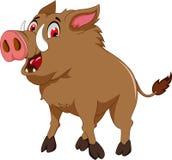 Cute wild boar for you design. Illustration of cute wild boar for you design Royalty Free Stock Photography
