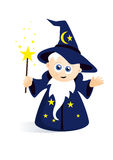 Cute wizard classic Stock Photos