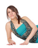 Cute woman royalty free stock photography