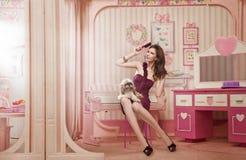 Cute woman Stock Photos