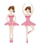 Cute woman ballet dancer Stock Photo