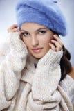 Cute woman close-up Stock Photo
