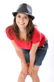 Cute Woman posing Royalty Free Stock Photography