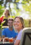 Cute Woman on Vacation Royalty Free Stock Image