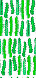 Cute wonderful mexican tropical floral summer green pattern of a colorful cactus aloe vera vertical seamless pattern paint like ch Royalty Free Stock Image