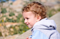Cute 3 year old child Stock Image
