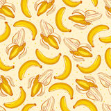 Cute yellow bananas Royalty Free Stock Photography