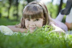 Cute youn girl Royalty Free Stock Images