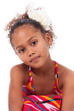 Cute young African Asian girl Stock Photos
