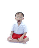 Cute young asian boy Royalty Free Stock Photography