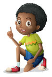 A cute young Black man Royalty Free Stock Image
