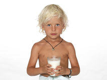 Cute, young boy Royalty Free Stock Images