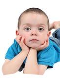 Cute young boy royalty free stock photos