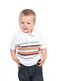 Cute young boy Stock Photos