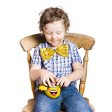 Boy with Easter egg Royalty Free Stock Photos