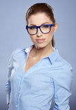 Cute young business woman Stock Photos