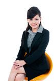 Cute Young Businesswoman Royalty Free Stock Photography