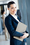 Cute young businesswoman Royalty Free Stock Image