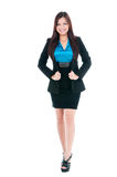 Cute Young Businesswoman Royalty Free Stock Photos