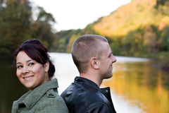 Cute Young Couple royalty free stock photo