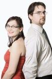 Cute young couple Stock Photos