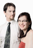 Cute young couple Stock Photography