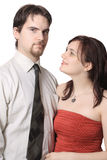 Cute young couple Stock Images