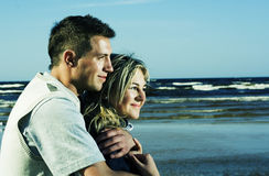 Cute young couple. Stock Images