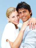Cute young couple together Stock Image