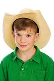 Cute young cowboy Stock Photo