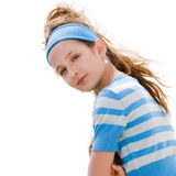 Cute young fashion girl Stock Images