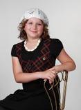 Cute young girl Stock Photos