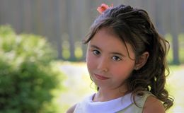 Cute young girl Stock Photos