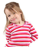 Cute young girl Royalty Free Stock Photos