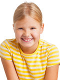 Cute young girl Stock Images