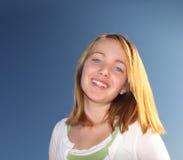 Cute Young Girl stock photo
