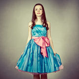Cute young girl dressed as a princess Stock Photos