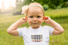 Cute young girl Royalty Free Stock Photography