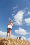 A cute young girl posing Stock Photo
