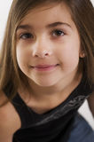 Cute young girls face Royalty Free Stock Images