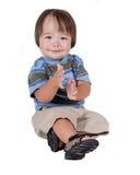 Cute young Hispanic boy Royalty Free Stock Photo