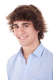 Cute young man, smiling Royalty Free Stock Photography