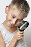 Cute young researcher Stock Photos