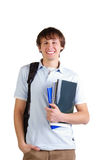 Cute young student royalty free stock photography