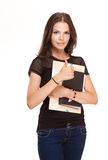 Cute young student. Stock Images