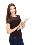 Cute young student. Stock Photography