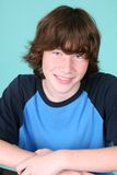 Cute young teen boy Stock Images