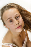 Cute young teenage girl Royalty Free Stock Images
