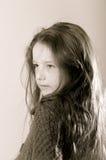 Cute young teenage girl portrait Stock Image