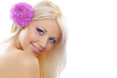 Cute young woman Royalty Free Stock Photo